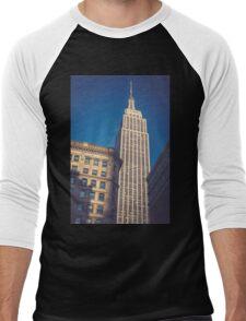 Under the Empire State Building Men's Baseball ¾ T-Shirt