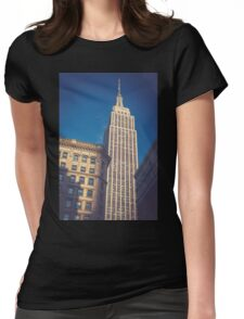 Under the Empire State Building Womens Fitted T-Shirt