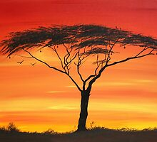 Series of Sunset by Abu Mwenye