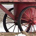 Red Wagon Wheels by nikspix