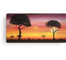 Series of Sunset #4 Canvas Print