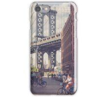 Bike Ride in Dumbo iPhone Case/Skin