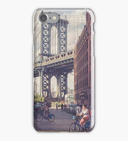 Bike Ride in Dumbo iPhone Case/Skin