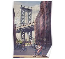 Bike Ride in Dumbo Poster