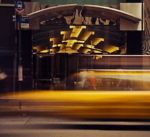 New York City - Cab by Kaitlin Kelly