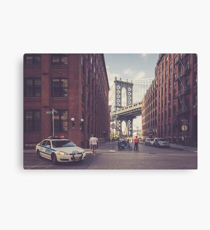 Another Day In Dumbo Canvas Print