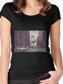 Another Day In Dumbo Women's Fitted Scoop T-Shirt