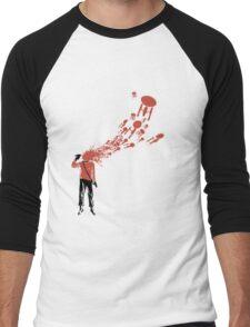 Trekkies in the Attic (spray version) Men's Baseball ¾ T-Shirt