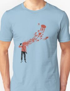 Trekkies in the Attic (spray version) Unisex T-Shirt