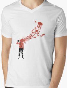 Trekkies in the Attic (spray version) Mens V-Neck T-Shirt