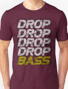 DROP DROP DROP DROP BASS (dark) T-Shirt