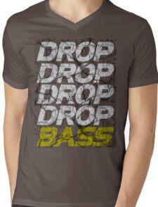 DROP DROP DROP DROP BASS (dark) Mens V-Neck T-Shirt
