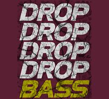 DROP DROP DROP DROP BASS (dark) Unisex T-Shirt