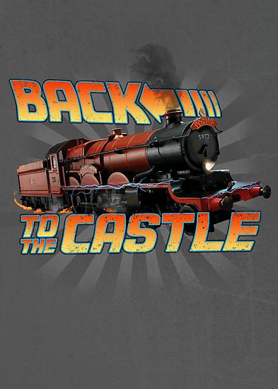 Back to the Castle! Hogwarts Express by thehookshot