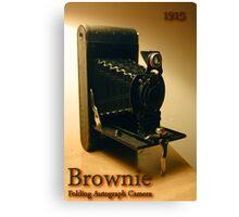 Brownie Canvas Print