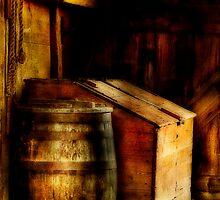 Barn Barrel by M a r i e B a r c i a