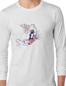 The Everyday, yet Extraordinary Expeditions of Edward D. Penguin Long Sleeve T-Shirt