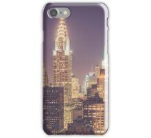 Chrysler Building Dusk iPhone Case/Skin