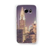 Chrysler Building Dusk Samsung Galaxy Case/Skin