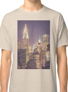 Chrysler Building Dusk Classic T-Shirt
