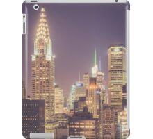 Chrysler Building Dusk iPad Case/Skin