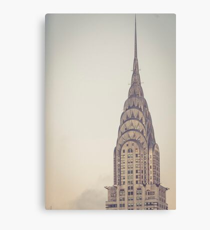 Chrysler Profile Canvas Print