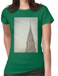 Chrysler Profile Womens Fitted T-Shirt