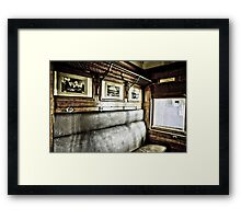 Memories from another time... Framed Print