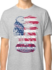 usa indian flag logo by rogers bros Classic T-Shirt
