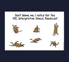ABC Interpretive Dance Bandicoot Kids Clothes
