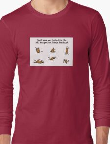ABC Interpretive Dance Bandicoot Long Sleeve T-Shirt