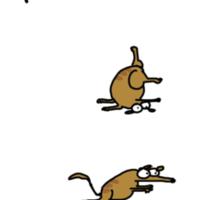 ABC Interpretive Dance Bandicoot Sticker
