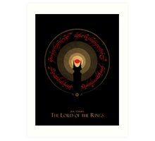 The Rings of Power Art Print