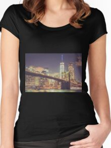 Landmarks Women's Fitted Scoop T-Shirt