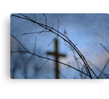 Even in the Weeds Canvas Print