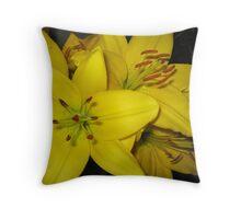 New Oriental Lily, Montafon Throw Pillow