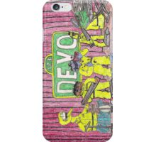 Devo Sesame Street iPhone Case/Skin
