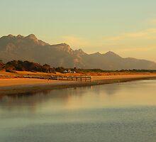 Whitemark Beach by Andrew  Makowiecki