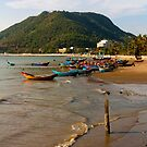 Vietnam Fishing Shoreline by AdamRussell
