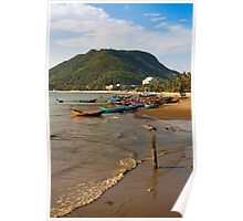 Vietnam Fishing Shoreline Poster