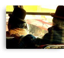 Old Ladies - La Paz Canvas Print
