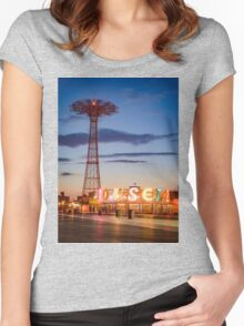 Coney Island Women's Fitted Scoop T-Shirt