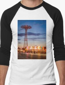 Coney Island Men's Baseball ¾ T-Shirt