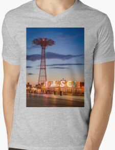 Coney Island Mens V-Neck T-Shirt
