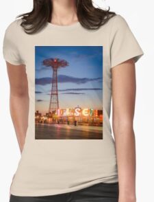 Coney Island Womens Fitted T-Shirt