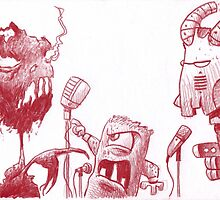 The Debates! by Mike Cressy