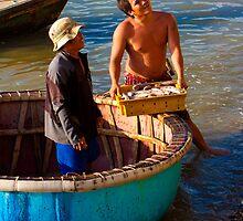 Vietnamese Fishermen  by AdamRussell