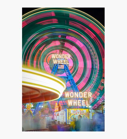 Wonder Wheel Photographic Print