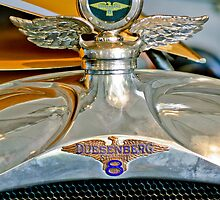 1923 Duesenberg Model A Touring Hood Ornament by Jill Reger