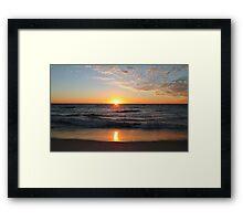 da sea Framed Print